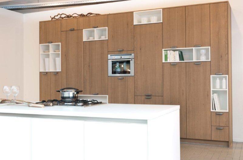 Kookeiland Keuken Houten : Keuken eiland new prachtige eiken houten woonkeuken met kookeiland