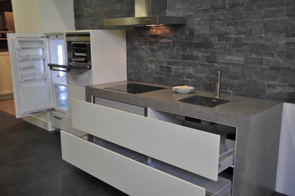 De voordeligste woonwinkel van nederland witte keller keuken servodrive - Witte keukens ...
